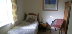 Single room with shower en-suite  – Room 6